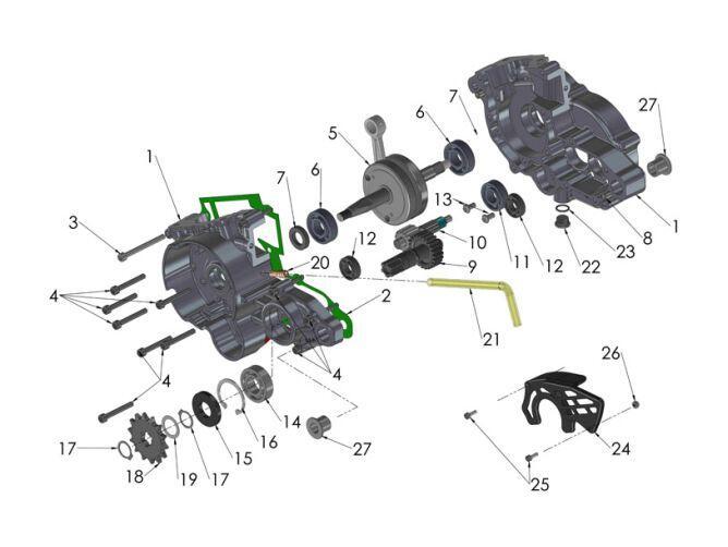 2017 Cobra Cx50 Fwe Parts